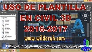getlinkyoutube.com-CIVIL 3D 2017 PLANTA PERFIL, SECCIÓN TRANSVERSAL Y MOVIMIENTO DE TIERRAS