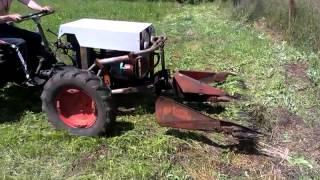 getlinkyoutube.com-Mini traktor bolgar.   Kosene!!!