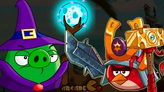 getlinkyoutube.com-Angry Birds Epic: Wednesday Floating Hoghouse Crafting For Coin Gold Piggies