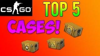 getlinkyoutube.com-CS GO Skins - Top 5 Cases! Which Case Is The Best To Open?