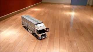 getlinkyoutube.com-LEGO Technic Wing Body Truck indoor test drive
