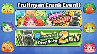 getlinkyoutube.com-Yo-Kai Watch Wibble Wobble - FRUITNYAN EVENT + HUGE Crank-a-Kai Party!