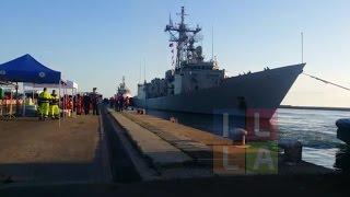Migranti, la Canarias con 286 profughi a Cagliari