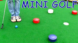 getlinkyoutube.com-Mini Golf - Let's Play (FOR REAL) - Cave Course​​​ | Matt3756​​​