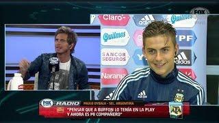 getlinkyoutube.com-Entrevista a Paulo Dybala - FOX Sports Radio [06/10/2015]