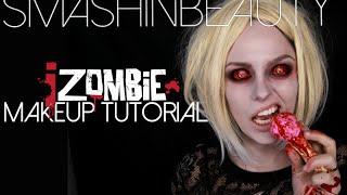 getlinkyoutube.com-iZombie Olivia Moore Halloween Makeup Tutorial 2016    SMASHINBEAUTY