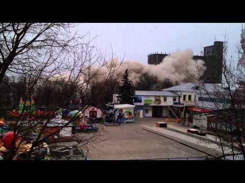 Взрыв мелькомбината в Калуге (Часть 1)
