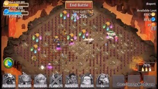 getlinkyoutube.com-[Castle Clash] Full Expert Dungeon 8 COMPLETED with 100% 3 FLAMES Guide