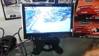 เทคนิคการต่อกล้องมองหลังให้เป็นกล้องหน้า เทคนิคการนำเส้นระยะออกจากจอภาพ CONCEPT ICAM1