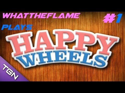 Happy Wheels | AWESOME FACES, LEVEL JERKERS, AND SLOW MOTION KILLINGS! (Part 1)