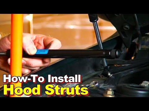 How To Install Hood Struts