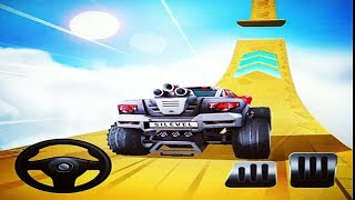 MOUNTAIN CLIMB STUNT GAME   Racing Games To Play - Car Racing Games Download - Children Games Free width=