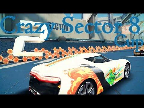 Asphalt 8 Airborne Crazy Sector 8 Cup | Renault DeZir (MAX) with Kit