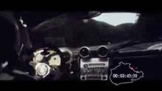 Pagani Zonda F laps Nurburgring in 7m27s