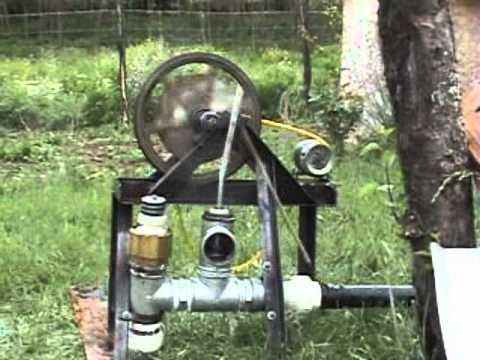 motor de ariete con generador electrico