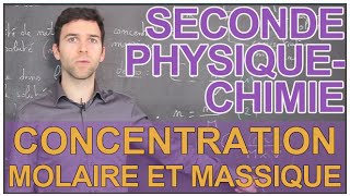 getlinkyoutube.com-Concentration molaire et massique - Physique-Chimie - Seconde - Les Bons Profs
