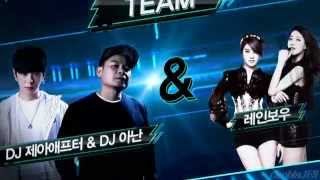 getlinkyoutube.com-SeungAh & No Eul [ Rainbow ] and JunYoung & Kwanghee [ ZE:A ] - Performance