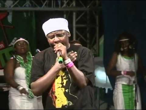 Allan Aaron performs 'Oka Jesu' at Safaricom KENYA LIVE Meru Concert
