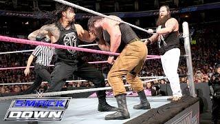 getlinkyoutube.com-Roman Reigns & Randy Orton vs. Bray Wyatt & Braun Strowman: SmackDown, Oct. 8, 2015