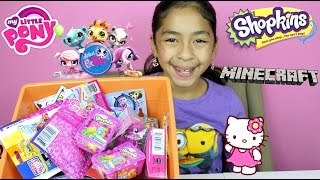 getlinkyoutube.com-MBBB My Little Pony Shopkins Minecraft Hello Kitty LPS | B2cutecupcakes