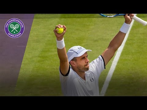 PERFECT GAME!!!- Gilles Muller hits four aces in a row