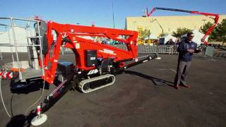 getlinkyoutube.com-Product Review: Teupen LEO 18GT Crawler-Mounted Aerial Lift
