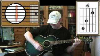 Imagine - John Lennon - Acoustic Guitar Lesson (Easy-ish)