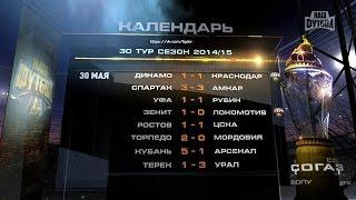 getlinkyoutube.com-Итоги 30-го тура СОГАЗ Чемпионата России по футболу 2014/2015