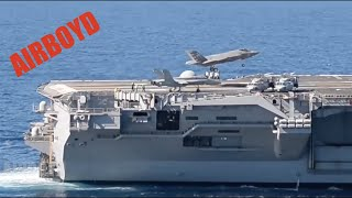 getlinkyoutube.com-F-35 Sea Trials USS Nimitz (CVN-68)