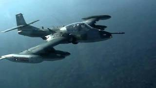 getlinkyoutube.com-Aeronave interceptada por aviones A-37 FAP