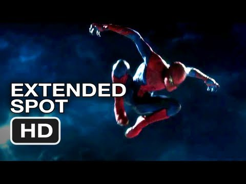 The Amazing Spider-Man Extended TV Spot (2012) Andrew Garfield HD