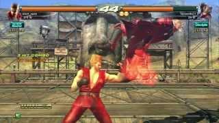 getlinkyoutube.com-RELOAD - Paul Phoenix combo video (Tekken Revolution)