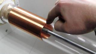 getlinkyoutube.com-Small acrylic TeslaCoil - Featured on Hacked Gadgets