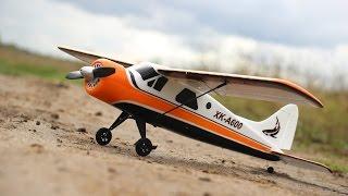 getlinkyoutube.com-Радиоуправляемый самолет XK DHC2 A600 Brushless