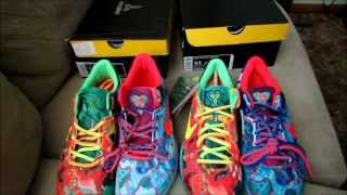getlinkyoutube.com-NIKE WHAT THE KOBE 8 (REAL VS FAKE) SNEAKERHEADS BEWARE