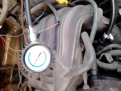 Давление в топливной системе крайслер 2.4 (газель)