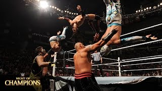 Neville & The Lucha Dragons vs. Stardust & The Ascension: Night of Champions 2015 Kickoff