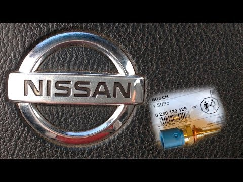 Датчик температуры охлаждающей жидкости Nissan Almera Classic Замена 2