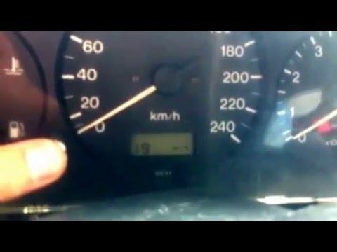 Диагностика панели приборов Mazda 626 gf