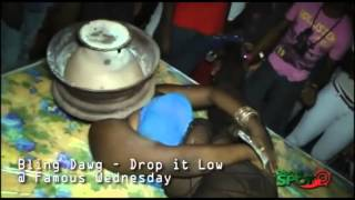 getlinkyoutube.com-A New Trend Tht Is Creeping Into Dancehall Street Parties (Ppl Putting Coal Stove On There Face)
