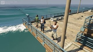 getlinkyoutube.com-GTA 5 - Fishing