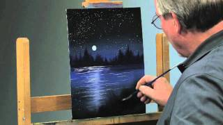 getlinkyoutube.com-Paint-Along: How to Paint a Night Scene in Oils, Part 2