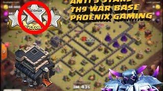"getlinkyoutube.com-5. Clash of clans ♥ Top th9 war base ♥  anti 3 star ""SPEED BUILD"" + REPLAYS ♥  CoC"