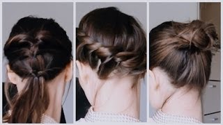 getlinkyoutube.com-Hair   Peinados fáciles para el pelo corto