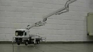 getlinkyoutube.com-Schwing Concrete Pump / Autobetonpumpe 1:16 Full Hydraulic