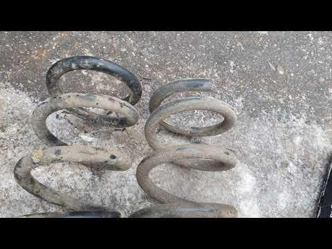 Замена задних пружин Паджеро 3 дизель