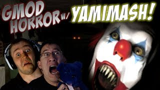 Gmod Horror Maps w/ YAMIMASH! | JUMPSCARES AND CLOWNS!