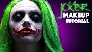 getlinkyoutube.com-Joker Makeup Tutorial