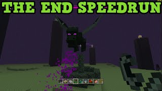getlinkyoutube.com-Minecraft Xbox One / PS4 SPEED RUN - Killing the Ender Dragon LIVE