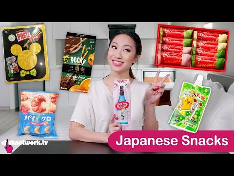 Japanese Snacks - Tried and Tested: EP101